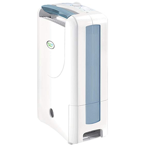Ecoair ECO DD122FW Desiccant Simple Dehumidifier, White